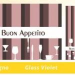 COORDINATO GLASS VIOLET